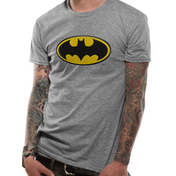 Batman - Logo Men's Medium T-Shirt - Grey