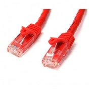 2m Red Gigabit Snagless RJ45 UTP Cat6 Patch Cable - 2 m Patch Cord