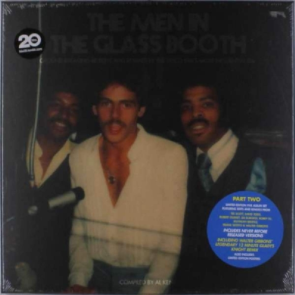 Various Artists - The Men In The Glass Booth (Part B) Vinyl