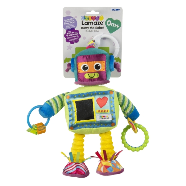 Lamaze Rusty the Robot Clip On Sensory Toy