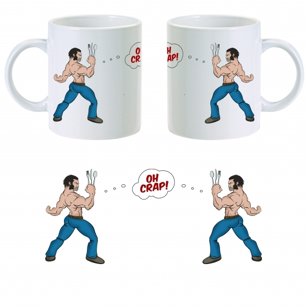 Wolverine Issue Mug ZT