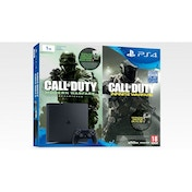 PlayStation 4 D-Chassis (1TB) Black Console With Call of Duty Infinite Warfare Early Access Bundle