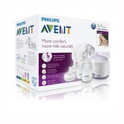 Philips AVENT SCF334/02 Comfort Twin Electric Breast Pump