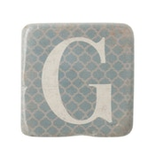 Letter G Coasters By Heaven Sends