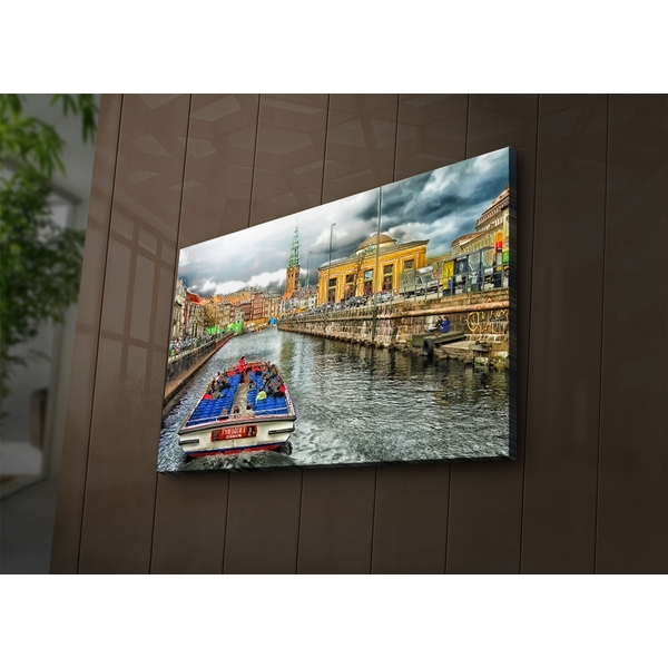 4570?ACT-74 Multicolor Decorative Led Lighted Canvas Painting
