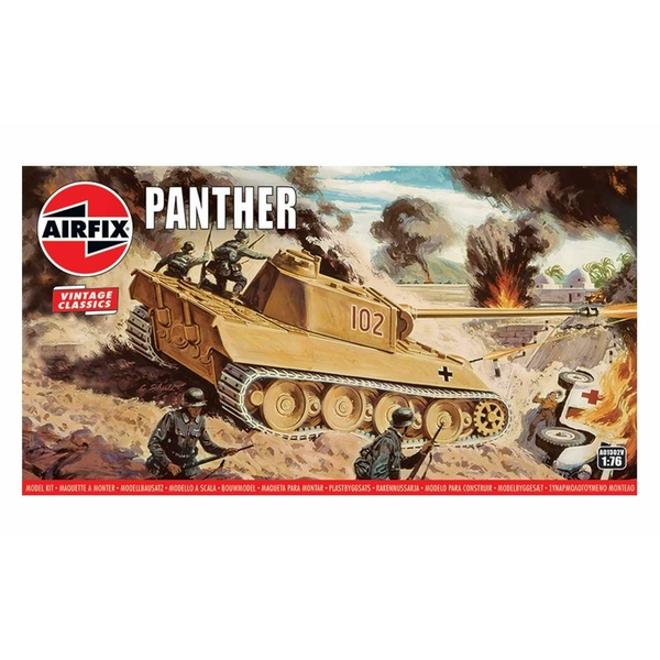 Panther 1:76 Vintage Classic Military Air Fix Model Kit
