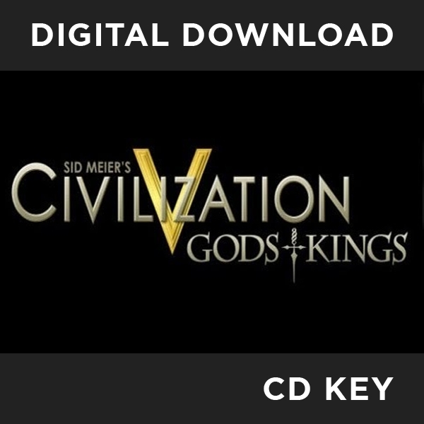 Sid Meier's Civilization V 5 Gods and Kings PC CD Key Download for Steam