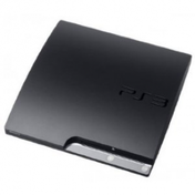 250GB SLIM Console System Black PS3