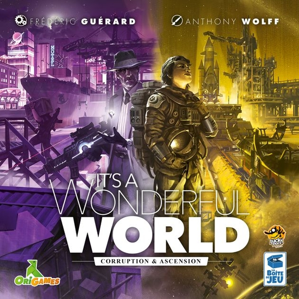 It's A Wonderful World: Corruption & Ascension Expansion Board Game