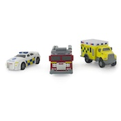 Tonka Diecast UK Emergency Vehicle Toy (Pack of 3)