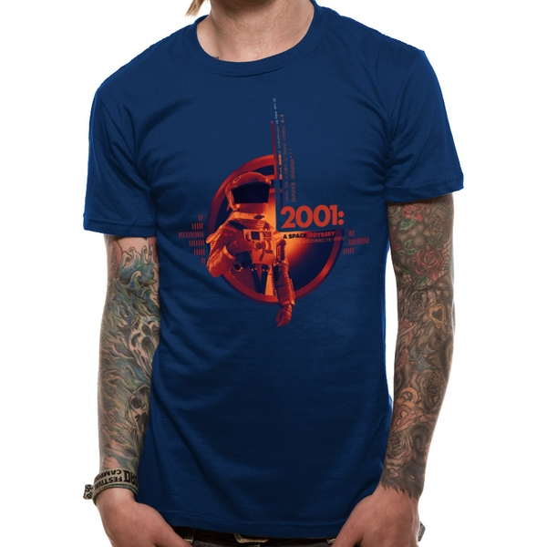 2001 Space Odyssey - Unisex Human Error T-Shirt (Navy)
