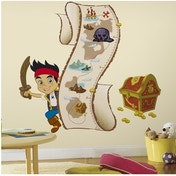 Jake and the Never Land Pirates Height Chart Wall Stickers