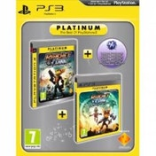 Ratchet & Clank Tools of Destruction & A Crack in Time Game (Platinum) PS3