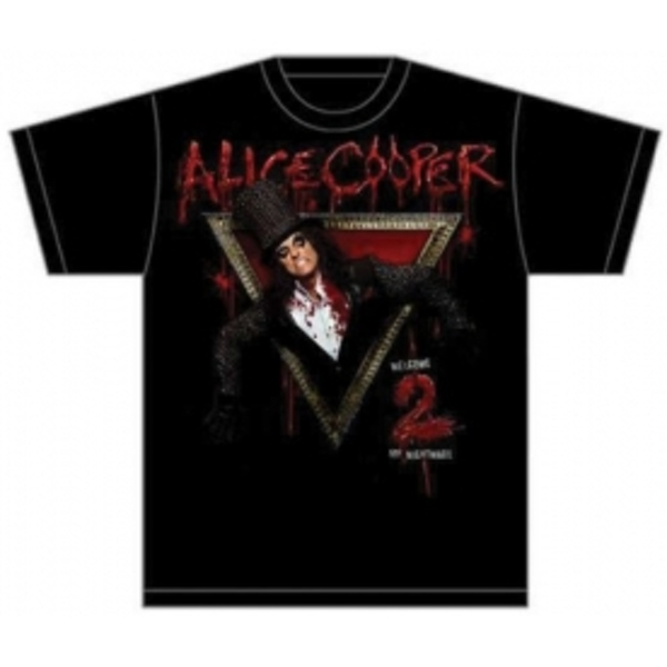 Alice Cooper Welcome to My Nightmare Mens T-Shirt: X-Large