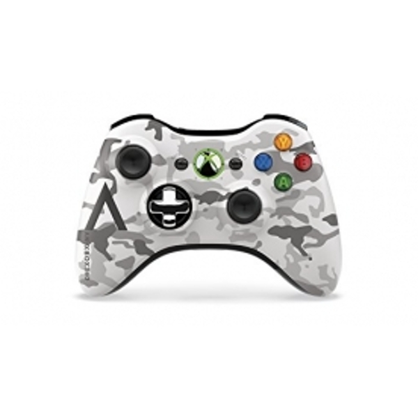 Xbox 360 Controller Wireless Artic Camouflage