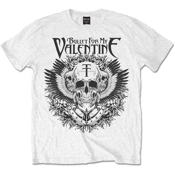 Bullet For My Valentine - Eagle Unisex XX-Large T-Shirt - White
