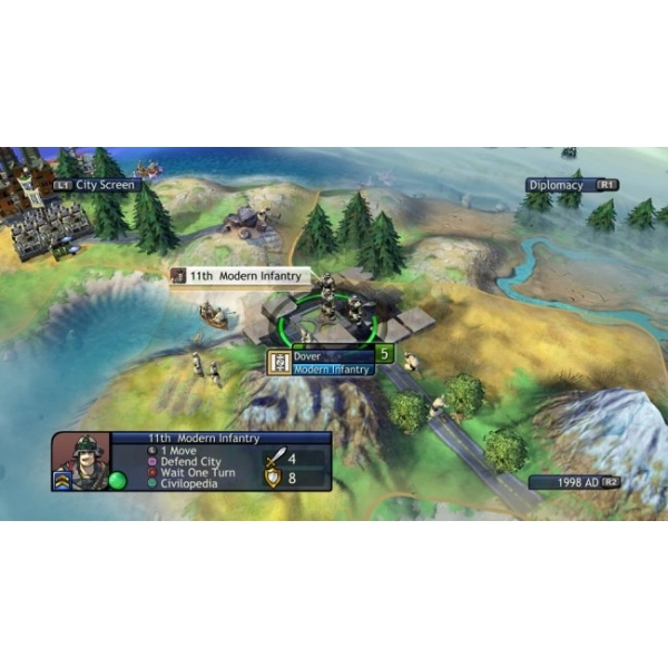 Sid Meier's Civilization Revolution Game PS3 (#) - Image 2