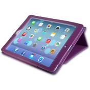 YouSave Accessories iPad Air Leather Effect Stand Case - Purple