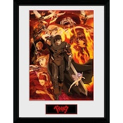 Berserk Collage Framed Collector Print
