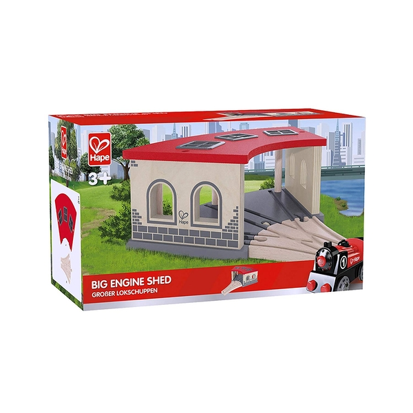 Hape Big Engine Shed