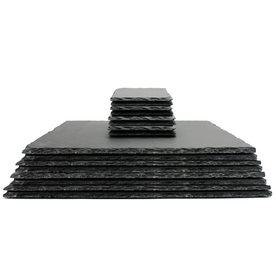 Slate Placemats & Coasters | M&W 16pc