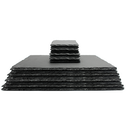 Slate Placemats & Coasters | M&W 16pc New