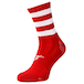 Precision Pro Hooped GAA Mid Socks - Red/White - Image 2