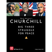Churchill Big Three Struggle for Peace Board Game