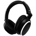 Groov-e Ultra Wireless Bluetooth Stereo Headphones with Powerful Sound Black