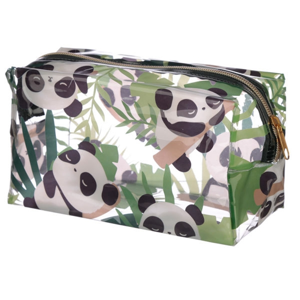 Panda Design Handy Clear PVC Wash Bag