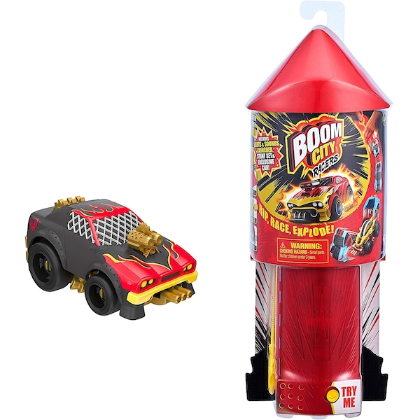 Boom City Racers Starter Pack Toy Car