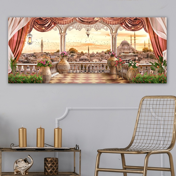 YTY554296519_50120 Multicolor Decorative Canvas Painting