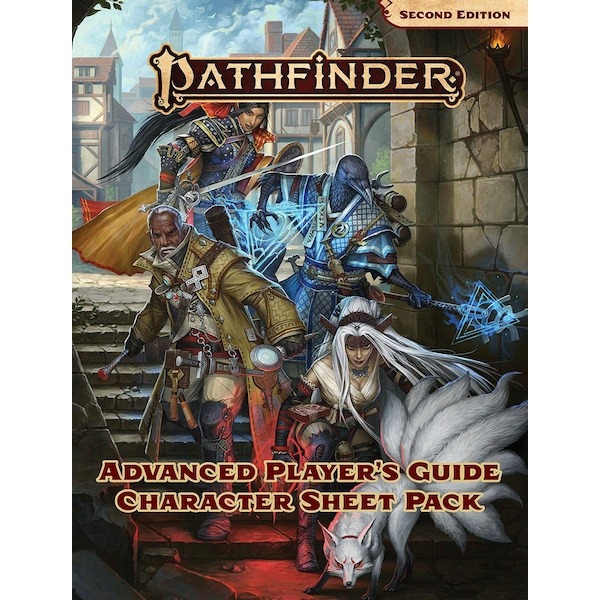 Pathfinder Advanced Player's Guide Character Sheet Pack