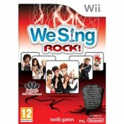 We Sing Rock Solus Game Wii