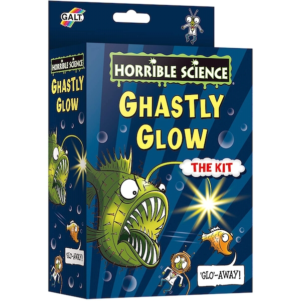 Ghastly Glow Horrible Science Activity Set