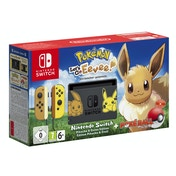 Nintendo Switch Let's Go Pokemon Eevee Limited Edition Console Bundle