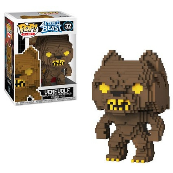 8-bit Werewolf (Altered Beasts) Vinyl Figure #32