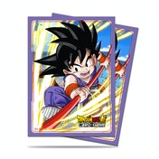 Dragon Ball Super: Explosive Spirit Son Goku 65 Standard Deck Sleeves