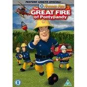 Fireman Sam The Great Fire of Pontypandy DVD