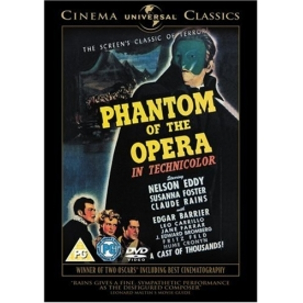 The Phantom Of The Opera DVD