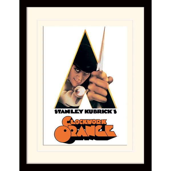 A Clockwork Orange - Dagger Mounted & Framed 30 x 40cm Print