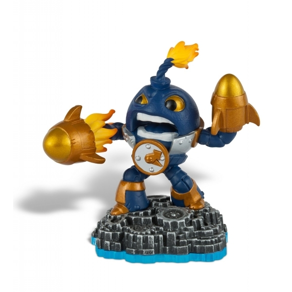 Countdown (Skylanders Swap Force) Tech Character Figure - Image 1