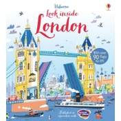 Look Inside London by Jonathan Melmoth (Board book, 2015)