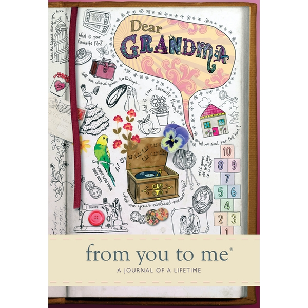 Dear Grandma Memory Journal capturing your grandmother's own amazing stories (Sketch design) Hardcover