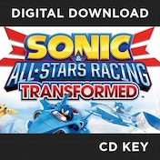 Sonic & All-Stars Racing Transformed Game PC CD Key Download for Steam