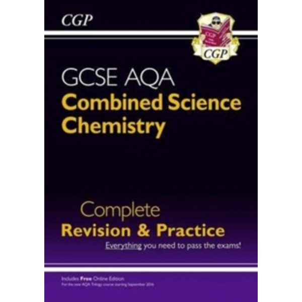 New Grade 9-1 GCSE Combined Science: Chemistry AQA Complete Revision & Practice with Online Edition by CGP Books (Paperback, 2016)