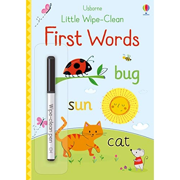 Little Wipe-Clean First Words  Paperback / softback 2018
