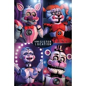 Five Nights at Freddys Sister Location Quad Maxi Poster