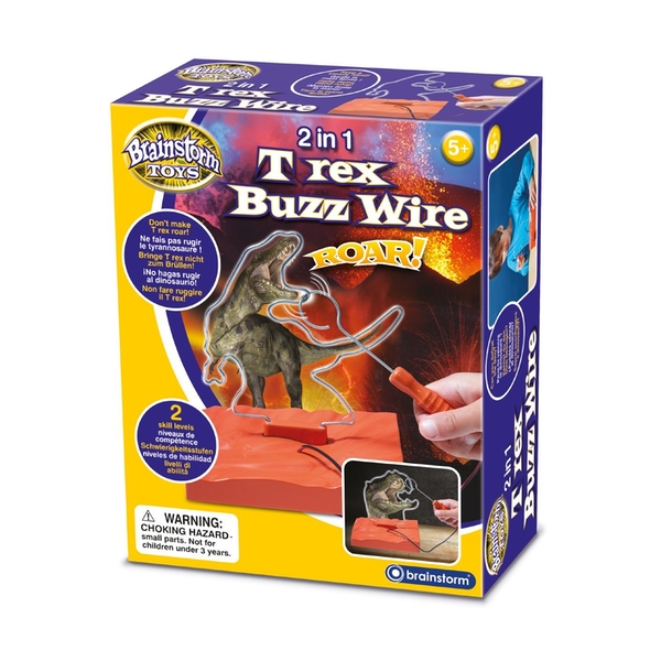 Brainstorm Toys T Rex Buzz Wire