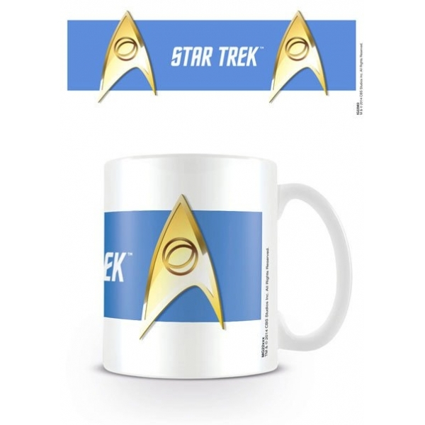 Star Trek (sciences Blue) Mug